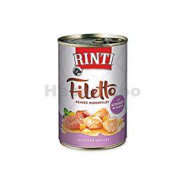 Konzerva RINTI Filetto - kuře a šunka ve šťávě 420g