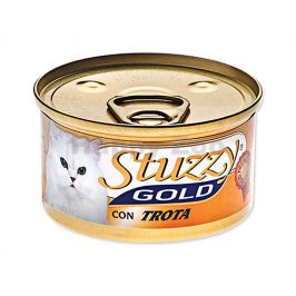 Konzerva STUZZY Cat Gold - pstruh 85g