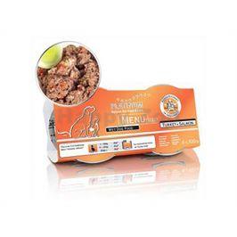 Konzerva PLATINUM Menu Mini Turkey & Salmon 4x100g