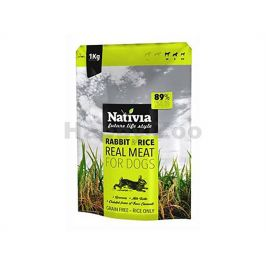 NATIVIA Real Meat Rabbit & Rice 8kg