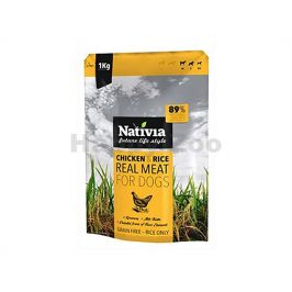 NATIVIA Real Meat Chicken & Rice 1kg