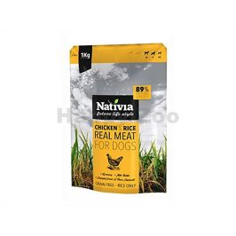 NATIVIA Real Meat Chicken & Rice 8kg