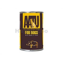 Konzerva AATU Wild Boar & Pork 400g