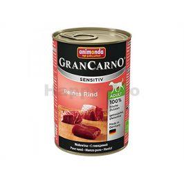 Konzerva GRAN CARNO Sensitiv čisté hovězí 400g