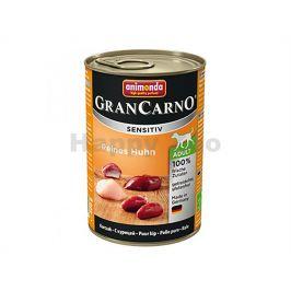 Konzerva GRAN CARNO Sensitiv čisté kuřecí 400g