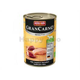 Konzerva GRAN CARNO Sensitiv čisté krůtí 400g