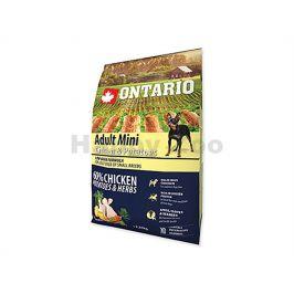 ONTARIO Adult Mini Chicken & Herbs 2,25kg