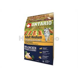 ONTARIO Adult Medium Chicken & Herbs 2,25kg