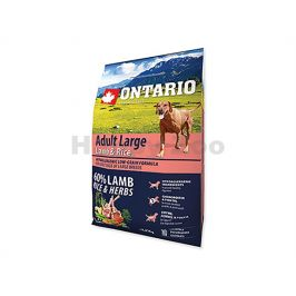 ONTARIO Adult Large Lamb, Turkey 2,25kg
