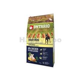 ONTARIO Adult Mini Chicken & Herbs 6,5kg