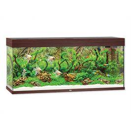 Akvarijní set JUWEL Rio LED 240 tamvě hnědý (240l) 121x41x55cm