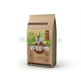 YOGGIES Minigranule kuřecí & hovězí 1,2kg