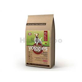 YOGGIES Minigranule kuřecí & hovězí 15kg