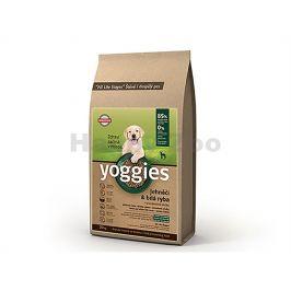 YOGGIES Minigranule jehněčí & bílá ryba 1,2kg