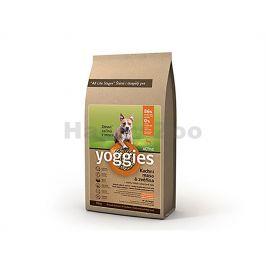 YOGGIES Active kachní maso & zvěřina 4kg