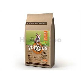 YOGGIES Active kachní maso & zvěřina 15kg