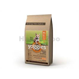 YOGGIES Active kachní maso & zvěřina 20kg