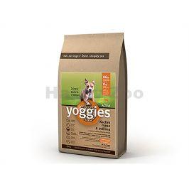 YOGGIES Active Minigranule kachní maso & zvěřina 4kg