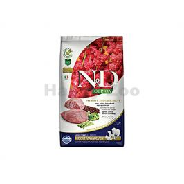 N&D Grain Free Quinoa Dog Weight Management Lamb & Broccoli 2,5k