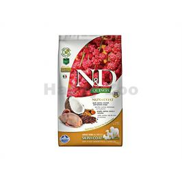 N&D Grain Free Quinoa Dog Skin & Coat Quail & Coconut 2,5kg