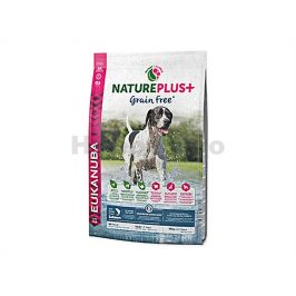 EUKANUBA Nature Plus+ Grain Free Adult Salmon 10kg