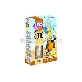 LOLO Sand citrónový písek pro ptáky 1,5kg