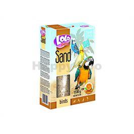 LOLO Sand pomerančový písek pro ptáky 1,5kg