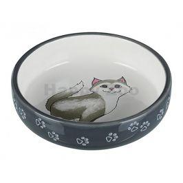Miska keramická TRIXIE pro kočky s krátkým nosem 300ml (15cm)