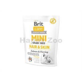 BRIT CARE Grain-Free Mini Hair & Skin Salmon & Herring 400g