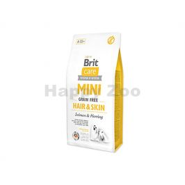 BRIT CARE Grain-Free Mini Hair & Skin Salmon & Herring 7kg