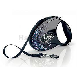 FLEXI Glam Splash Mystic (M) Black (do 25kg, 5m pásek)