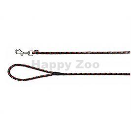 Vodítko TRIXIE Mountain Rope černooranžové (0,8cm) 5m
