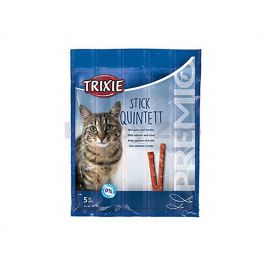TRIXIE Premio Quintett tyčinky losos/pstruh 5x5g