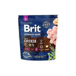 BRIT Premium by Nature Adult (S) 1kg
