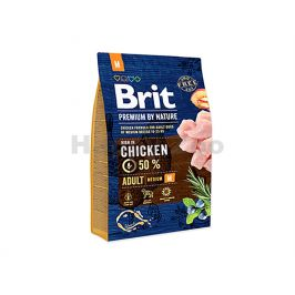 BRIT Premium by Nature Adult (M) 3kg