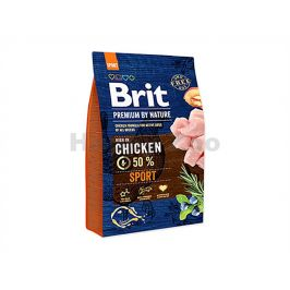 BRIT Premium by Nature Sensitive Sport 3kg