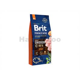BRIT Premium by Nature Sensitive Sport 15kg