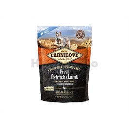 CARNILOVE Dog Fresh Ostrich & Lamb for Small Breed Adult 1,5kg