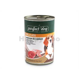 Konzerva PERFECT DOG Venison & Rabbit 400g