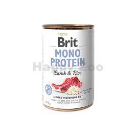 Konzerva BRIT Mono Protein Lamb & Rice 400g