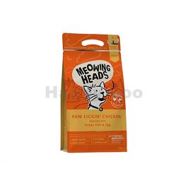 MEOWING HEADS New Paw Lickin' Chicken 4kg