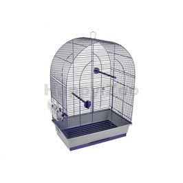 Klec pro ptáky FLAMINGO Budgie Klara 2 modrá 45x28x63cm