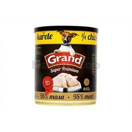 Konzerva GRAND Superpremium 1/4 kuřete 850g