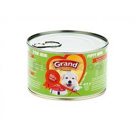 Konzerva GRAND štěně menu 405g