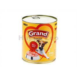 Konzerva GRAND Premium kuřecí 850g