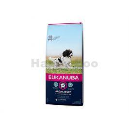 EUKANUBA Medium Breed Active Adult 15kg