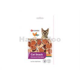FLAMINGO Cat Snack Chicken & Fish Rolls 50g