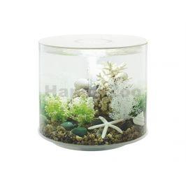 Akvarijní set BIORB Tube LED bílý (35l)