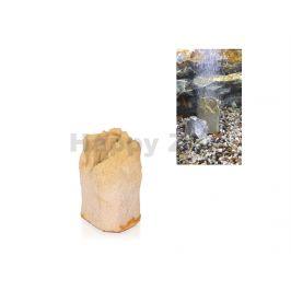 Vzduchovací skalka TOMMI pískovcová (XS) 5x4x9cm