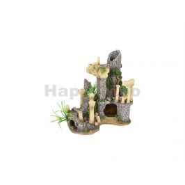 Akvarijní dekorace FLAMINGO - Colossos antické sloupy 21x13x21cm
